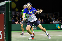 ABN AMRO World Tennis Tournament, Rotterdam, The Netherlands, 14 februari, 2017, Niels Lootsma (NED), Tallon Griekspoor (NED)<br /> Photo: Henk Koster