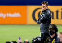 CARSON, CA - OCTOBER 18: Guillermo Barros Schelotto manager of the Los Angeles Galaxy during a game between Vancouver Whitecaps and Los Angeles Galaxy at Dignity Heath Sports Park on October 18, 2020 in Carson, California.