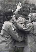 Vietnam Memorial, Washington DC 11/89