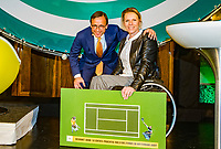 Rotterdam, Netherlands, 09 Februari, 2018, City Hall, Official Draw,  Esther Vergeer <br /> Photo: Tennisimages/Henk Koster
