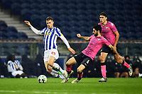 3rd January 2021; Dragao Stadium, Porto, Portugal; Portuguese Championship 2020/2021, FC Porto versus Moreirense; Toni Martínez of FC Porto and Fábio Pacheco of Moreirense
