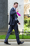 © Joel Goodman - 07973 332324 . 11/05/2015 . London , UK . GREG CLARK leaves 10 Downing Street this afternoon (11th May 2015) . Photo credit : Joel Goodman