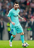 FC Barcelona's Leo Messi during La Liga match. October 14,2017.  *** Local Caption *** © pixathlon<br /> Contact: +49-40-22 63 02 60 , info@pixathlon.de