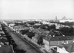 View of the street from Astrakhan Yamskaya Zastava. Ryazan. 1900/ Вид на Астраханскую улицу от Ямской заставы. Рязань. 1900-е
