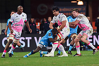 Talalelei GRAY of Stade Francais  during the Top 14 match between Montpellier and Stade Francais at Altrad Stadium on December 28, 2019 in Montpellier, France. (Photo by Alexandre Dimou/Icon Sport) - Talalelei GRAY - Altrad Stadium - Montpellier (France)