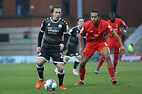 Sam Matthews of Crawley Town and Joe Widdowson of Leyton Orient during Leyton Orient vs Crawley Town, Sky Bet EFL League 2 Football at The Breyer Group Stadium on 19th December 2020