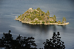 Fanette Island in Emerald Bay at Lake Tahoe