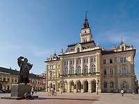Rathaus am Freiheitsplatz Trg Slobode in Novi Sad = Neusatz, Vojvodina, Serbien, Europa<br /> City Hall at Freedom Square-Trg Slobode, Novi Sad, Vojvodina, Serbia, Europe