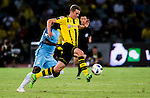 SHENZHEN - JULY 28: Borussia Dortmund plays Manchester City FC during their 2016 International Champions Cup China match at the Shenzhen Stadium on 28 July 2016 in Shenzhen, China. (Photo by Power Sport Images/Getty Images)