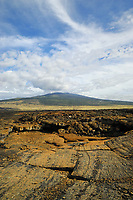 Hualalai volcano 1801 flow, Kailau Kona, The Big Island of Hawaii