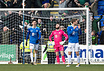 St Johnstone v Celtic…03.02.19…   McDiarmid Park    SPFL<br />Zander Clark reacts after Scott Tanser let James Forrest in to score the opening goal<br />Picture by Graeme Hart. <br />Copyright Perthshire Picture Agency<br />Tel: 01738 623350  Mobile: 07990 594431