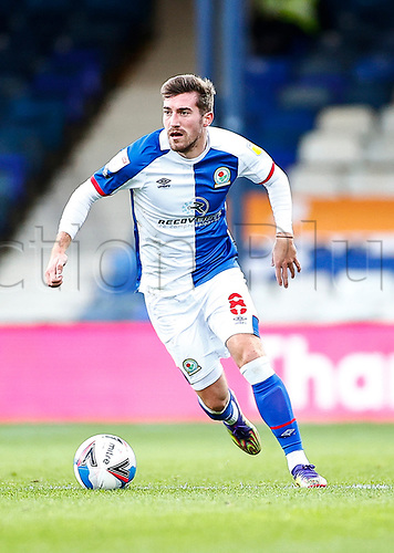 21st November 2020; Kenilworth Road, Luton, Bedfordshire, England; English Football League Championship Football, Luton Town versus Blackburn Rovers; Joe Rothwell of Blackburn Rovers running wide