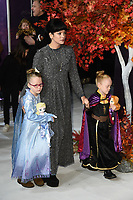 """Lilly Allen and daughters, Marnie and Ethel<br /> arriving for the """"Frozen 2"""" premiere at the BFI South Bank, London.<br /> <br /> ©Ash Knotek  D3537 17/11/2019"""