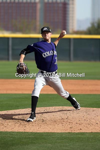 Kyle Freeland - Colorado Rockies 2016 spring training (Bill Mitchell)