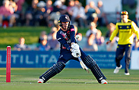 Jordan Cox hits out for Kent during Kent Spitfires vs Hampshire Hawks, Vitality Blast T20 Cricket at The Spitfire Ground on 9th June 2021
