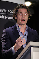 November 18, 2013 - Franois-Charles Sirois, President & CEO of Telesystem deliver a speech to the Canadian Club of Montreal