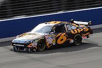 Feb 20, 2009; Fontana, CA, USA; NASCAR Sprint Cup Series driver David Ragan during practice for the Auto Club 500 at Auto Club Speedway. Mandatory Credit: Mark J. Rebilas-