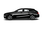 Car Driver side profile view of a 2017 Mercedes Benz CLA-Class - 5 Door wagon Side View
