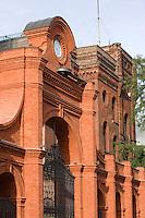 Europe/Pologne/Lodz: le Complexe Manufaktura dans l'ancienne fabrique de textile de Poznanski - l'ancienne porte de l'usine
