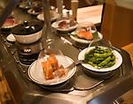Interior, Itsu Restaurant, London, city, England, UK, United Kingdom, Great Britain, Europe, European