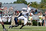 4/19/2009 -- Wingate Bulldogs vs. North Greenville Crusaders - Wingate, NC, U.S.A: The Wingate Bulldogs beat the North Greenville Crusaders by a score of 33-14 Photo by Dirk Weaver