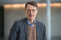 Dr. Karl Wilhelm Lauterbach, SPD, MdB, Mediziner und Gesundheitsoekonom. Er ist Mitglied der SPD und seit 2005 Abgeordneter im Deutschen Bundestag.<br /> 24.3.2021, Berlin<br /> Copyright: Christian-Ditsch.de