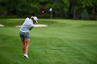 16th July 2021, Midland, MI, USA;  Stacy Lewis (USA) hits her second shot from the rough on 2 during the Dow Great Lakes Bay Invitational Rd3 at Midland Country Club on July 16, 2021 in Midland, Michigan.