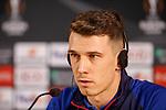 23.10.2019 Rangers press conference , Porto: Ryan Jack