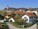 Deutschland, Bayern, Oberbayern, Marktl am Inn, Geburtsort von Dr. Joseph Ratzinger - Papst Benedikt 16. | Germany, Bavaria, Upper Bavaria, Marktl am Inn, birthplace of Dr. Joseph Ratzinger - Pope Benedict 16.