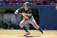 North Dakota State Bisons Tim Colwell #9 during a game vs Bradley Braves at Chain of Lakes Park in Winter Haven, Florida;  March 17, 2011.  Bradley defeated North Dakota State 6-5.  Photo By Mike Janes/Four Seam Images