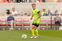 Chicago, IL - Sunday Sept. 04, 2016: Jessica Fishlock during a regular season National Women's Soccer League (NWSL) match between the Chicago Red Stars and Seattle Reign FC at Toyota Park.