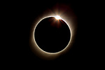 Chile, Coquimbo Region, solar eclipse
