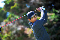 Dongwoo Kang. Day one of the Jennian Homes Charles Tour / Brian Green Property Group New Zealand Super 6's at Manawatu Golf Club in Palmerston North, New Zealand on Thursday, 5 March 2020. Photo: Dave Lintott / lintottphoto.co.nz