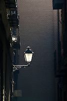 Streetlight in Toledo, Spain