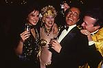 ALIZA ADAR MOLCO CON SANDRA MILO E SARO BALSAMO<br /> FESTA COVERI PALAZZO PISANI MORETTA VENEZIA 1985