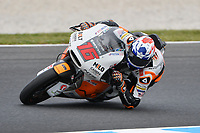 October 27, 2018: Joe ROBERTS (USA) riding the NTS from the NTS RW Racing GP team during the Moto2 practice session four at the 2018 MotoGP of Australia at Phillip Island Grand Prix Circuit, Victoria, Australia. Photo Sydney Low