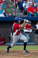 Josh Satin of the St. Lucie Mets during the Florida State League All Star Game (Scott Jontes/MiLB.com)