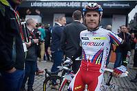 another race favourite before the start: Joaquim Rodriguez (ESP/Katusha)<br /> <br /> 101th Liège-Bastogne-Liège 2015