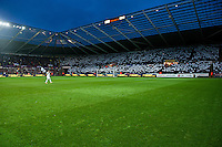 Saturday 8th February 2014<br /> Pictured: <br /> Re: Barclays Premier League Swansea City FC  v Cardiff City FC at the Liberty Stadium, Swansea