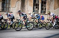 defending Tirreno champion Simon Yates (GBR/Bike Exchange) riding race number 1<br /> <br /> Stage 1 from Lido di Camaiore to Lido di Camaiore (156km)<br /> <br /> 56th Tirreno-Adriatico 2021 (2.UWT) <br /> <br /> ©kramon