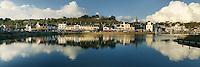 Ville du Goélo au fond de la baie de Saint-Brieuc, Manche
