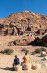 Jordan, Petra. The Royal Tombs&#xA;<br />