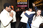 """Jawan M. Jackson and Jeremy Pope starring in """"Ain't Too Proud: The Life And Times Of The Temptations"""" after their first Broadway preview performance at The Imperial Theatre on February 28, 2019 in New York City."""