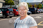 Eilish O'Carroll AKA Winnie McGoogan of Mrs Brown's Boys, enjoying a visit to Listowel on Friday