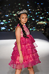 Model walks runway in an outfit from the Angora Boutique Spring Summer 2020 runway show by Melissa Ozer, for The Society Fashion Week Spring Summer 2020 during New York Fashion Week, on September 7, 2019.