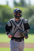 Chicago White Sox catcher Zach Collins (33) during an Instructional League game against the Los Angeles Dodgers on September 30, 2017 at Camelback Ranch in Glendale, Arizona. (Zachary Lucy/Four Seam Images)