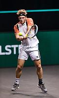Rotterdam, The Netherlands, 4 march  2021, ABNAMRO World Tennis Tournament, Ahoy, Second round singles: Alejandro Davidovich Fokina (ESP).<br /> Photo: www.tennisimages.com/