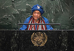 Address by Her Excellency Ellen Johnson-Sirleaf, President of the Republic of Liberia