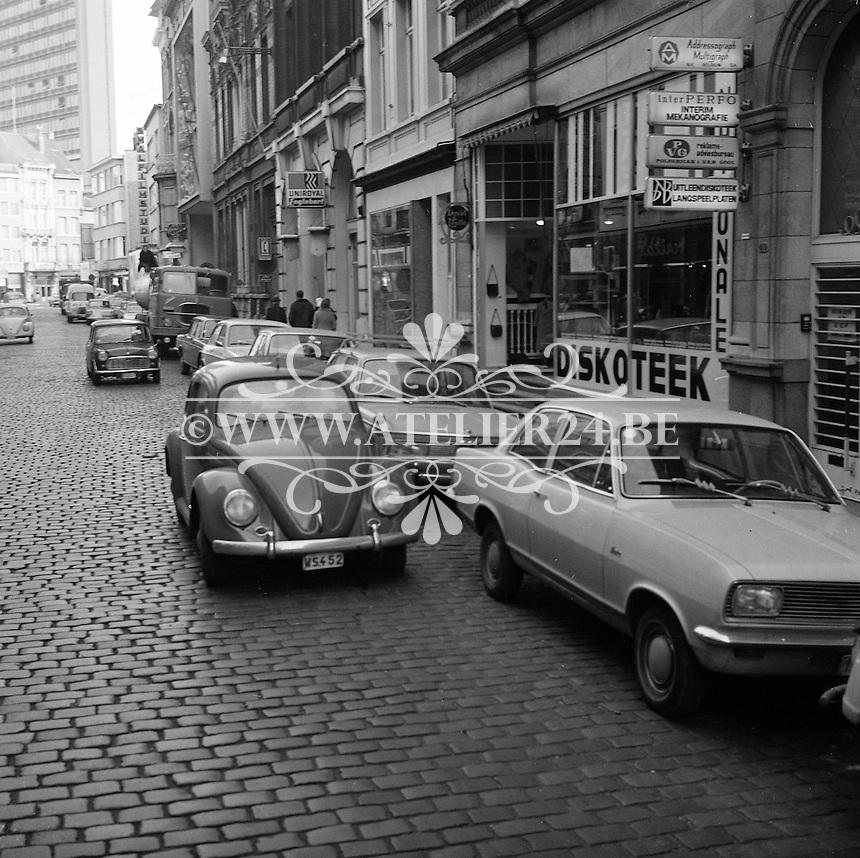 December 1970. Antwerpen.