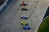 #10: Alex Palou, Chip Ganassi Racing Honda, #22: Simon Pagenaud, Team Penske Chevrolet